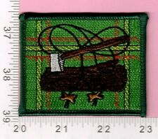 Scouts of Taiwan Scout Leader Woodbadge 2 Beads Patch Badge B