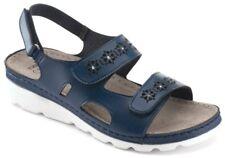 Tiglio Memory Sandali Ciabatte da Donna Art. 4221 Blu Sandals 38