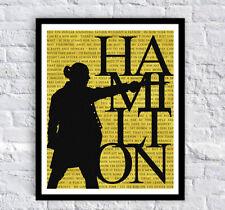 Hamilton Poster Print Musical Broadway 8x10 Lin Manuel Miranda