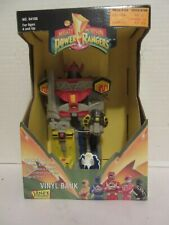 Janex Mighty Morphin Power Rangers Megazord Vinyl Bank (Sealed Unopened)1994