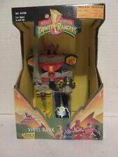 Janex Mighty Morphin Power Rangers Megazord Vinyl Bank (Sealed Unopened)1994