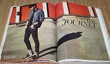 MARIE CLAIRE MAGAZINE 2015 MAR MARCH LEE JONG SUK SONG JI HYO CLIPPINGS PAGE