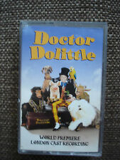DOCTOR DOLITTLE LONDON CAST RECORDING CASSETTE TAPE ALBUM 1998 PHILLIP SCHOFIELD