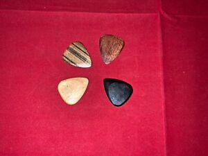 Timber Tones Wood Guitar Pick / Plectrum - pack of four assorted picks.