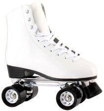 Disco Roller Rollschuhe 36 37 38 39 40 41 42 Leder schwarz weiß Disco Roller NEU