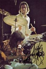More details for charlie watts signed 6x4 photo the rolling stones drummer music autograph + coa