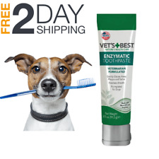Natural Enzymatic Dog Toothpaste Gel Vets Best Fresh Breath Pet Oral Dental Care