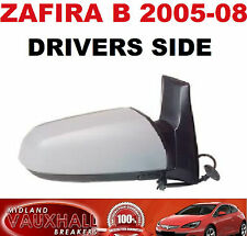 VAUXHALL ZAFIRA B MK2 WING MIRROR ELECTRIC PRIMED DRIVERS OFF RIGHT SIDE