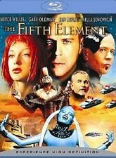THE FIFTH ELEMENT NEW BLU RAY DISC FILM BRUCE WILLIS MILLA JOVOVICH CHRIS TUCKER