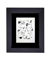 Joan MIRO Lithograph LIMITED Ed. [1947] +Cat. Ref: c13 ++Custom Archival FRAMING