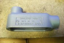 """NEW Appleton LB75-M 3/4"""" Mall Iron Form 35 Conduit Outlet Body Type LB"""