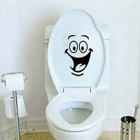 Smile Face Toilet Sticker Furniture Decoration Fridge Washing Machine Sticker