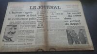 Newspapers The Journal N°17061 Friday 7 July 1939 ABE
