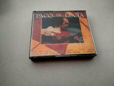 """PACO DE LUCIA """"ANTOLOGIA"""" 2CD 25 TRACKS COMO NUEVO"""