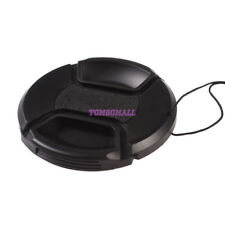 62mm Lens Cap - Snap on Clip on with String for Camcorders Cameras f Canon Nikon