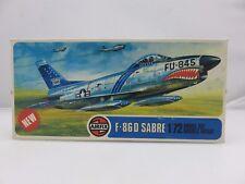 Airfix F-86D SABRE 1/72 Scale Plastic Model Kit UNBUILT 1975