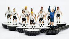 Subbuteo Alemania Equipo Fútbol Equipo Nuevo Sin Caja de juego Juguete Figuras De Paul Lamond
