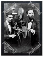 Historic Goodwin Norton operating Kine projector 1898 Advertising Postcard