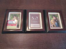 3  Solid Wood Picture Frames 5x7, contemporary Wood Picture Photo Frame,Designer