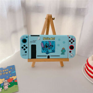 Cute Cartoon Stitch Nintendo Switch Cover Case Skin Shell Protective back case