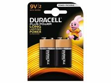 2 X Duracell 9v Pp3 Plus Power Batteries (5000394105522)