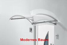 GUTTA Vordach Bogenvordach BV Secco, Breite 150 cm, Tiefe 90 cm, edelstahl-optik