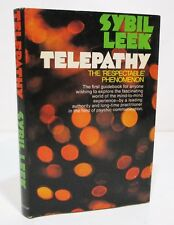 TELEPATHY The Respectable Phenomenon by SYBIL LEEK HCDJ BCE