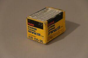 Kodak EIR EKTACHROME INFRARED film COLOR always cold stored 11 / 1998