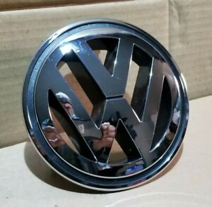VW PASSAT CC FRONT BUMPER BONNET GRILLE CHROME VW LOGO BADGE 1K5853600 150 mm
