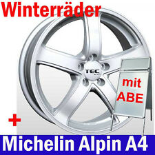 "16"" AS1 SL Winterräder Winterreifen Michelin A4 für Mitsubishi Space Wagon N50"