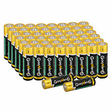 New Type 50pcs Gaoneng Max AA Alkaline Batteries 1.5v Bulk Single Use Batteries