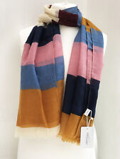 Multi Colour Thin Stripes Scarf Wrap Large Summer Scarves Women Fashion Hijab
