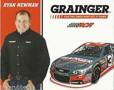 "2015 RYAN NEWMAN ""GRAINGER GET IT DONE RCR"" #31 NASCAR SPRINT CUP POSTCARD"