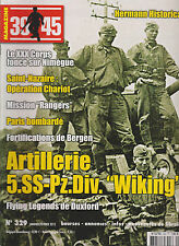 39-45 N°329 ARTILLERIE WIKING / FORTIFICATION BERGEN / OP CHARIOT /PARIS/NIMEGUE