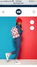 HelloKittyXMiPac Hello Kitty Mi-Pac Backpack Bag School College Lolita Japan