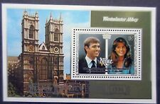 Niue 1986 Royal Wedding Mini Sheet. MNH.