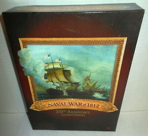 Boxed BOARD WAR GAME Naval War of 1812 200th Anniversary Limited Ed #256/812