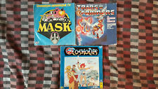 lot 3X45 tours: Transformers, Mask, Cosmocats