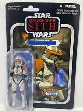 STAR Wars Il Clone VINTAGE COLLECTION VC19 Commander Cody 2010 scheda sul retro