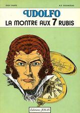 EO 1980 EDDY PAAPE + ANDRÉ-PAUL DUCHÂTEAU : UDOLFO, LA MONTRE AUX 7 RUBIS
