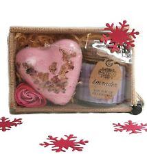 Lavender & Rose Bath Spa Gift Set