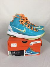 """Nike Zoom KD Kevin Durant V(5) """"Easter"""" Size 10.5 W/Rep Box 554988-402"""