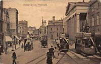 POSTCARD    DEVON    PLYMOUTH  George  Street