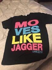 """Maroon 5 """"Moves Like Jagger� Medium T-Shirt"""