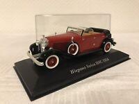Hispano Suiza H6C 1:43 Geschenk Modellauto Oldtimer Spielzeug Rarität Sammeln
