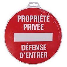 Disque rigide Diamètre 18 cm Novap - Propriété Privée Defense D'entrer
