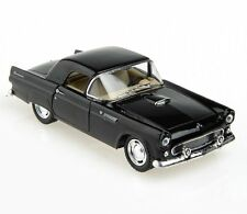Kinsmart 1:32 1955 Ford Thunderbird Diecast Car Black Color Kt5319D