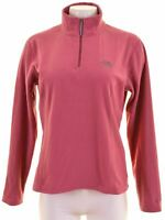 THE NORTH FACE Womens Fleece Jumper Sweater Size 16 Large Pink Polyester  CK15
