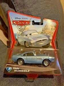 Disney Pixar Cars 2 Finn McMissile Die Cast Mattel Toy Car