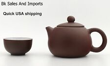 Yixing Purple Clay, USA SHIPPING, Zisha Teapot, 4 Piece Tea Set
